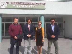Il Marchio nelle scuole dell'Albania
